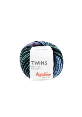 Twins Kleurnummer 158 - Geel-Groen-Blauw-Fuchsia