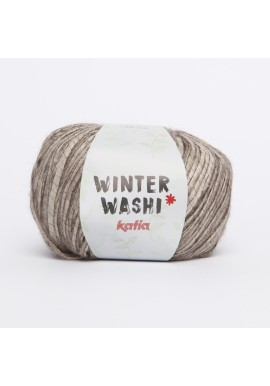 Winterwashi  Kleurnummer 202 - Bruin-Steengrijs