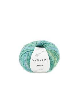 Yoga Kleurnummer 205 - Groen-Blauw