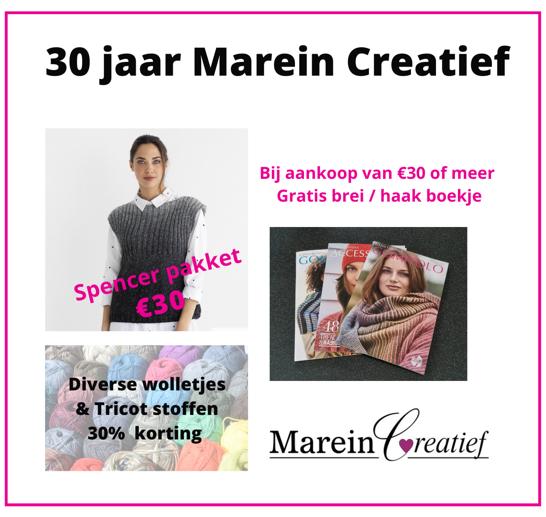 Website Acties 30 jaar Marein Creatief