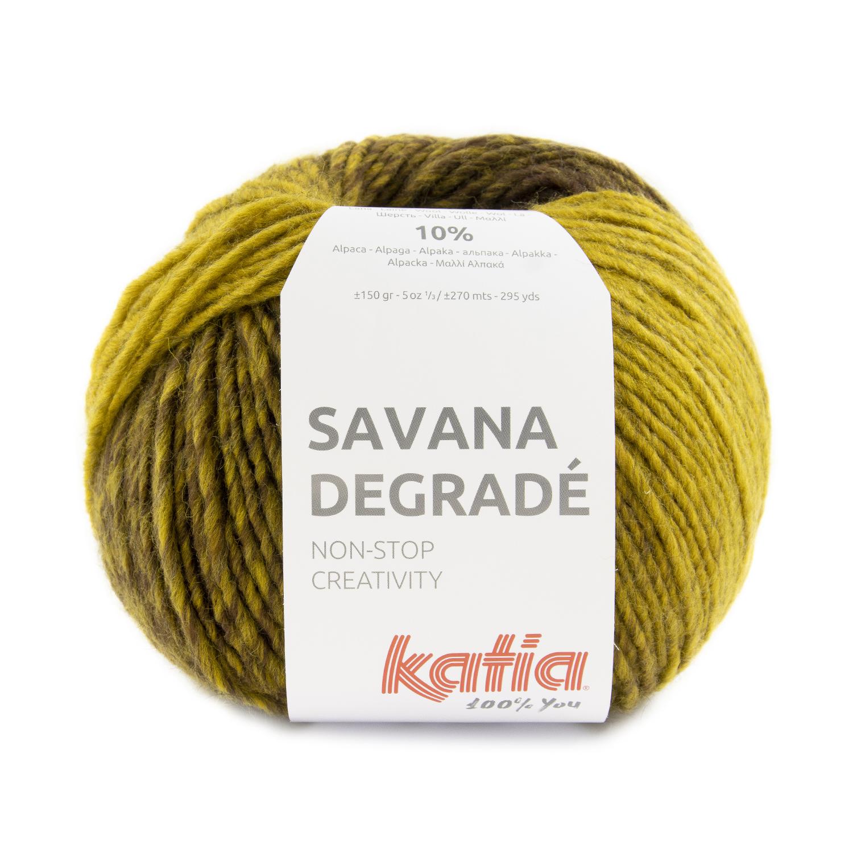 Savana Degradé 103 - Oker-Bruin-Grijs