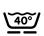 Machinewasbaar tot 40ºC met wolprogamma.