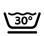 wasbaar in wasmachine 30 graden / Wolprogramma
